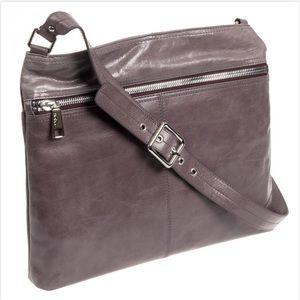 Hobo Granite Leather Lorna Crossbody Messenger Bag